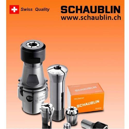 Schaublin Takım Tutucu ve Pensler